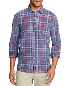 Johnnie-O Salina Plaid Corduroy Long Sleeve Button-Down Shirt - Bloomingdale's_0