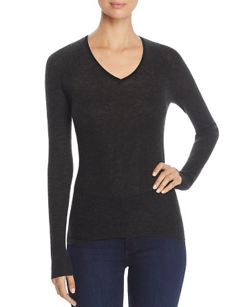 $Elie Tahari Voetry Ribbed Sweater - Bloomingdale's