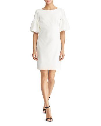 Ralph Lauren - Bubble-Sleeve Ponte Dress