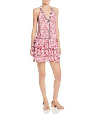 Poupette St. Barth Bety Ruffled Mini Dress