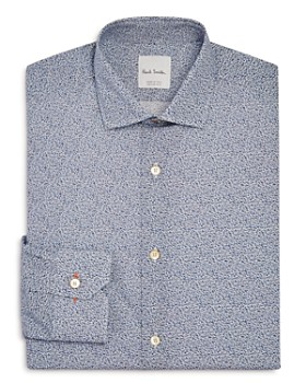 Paul Smith - Micro Floral Slim Fit Dress Shirt