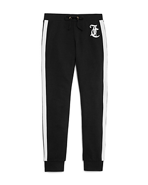 Juicy Couture Black Label Girls Joggers with Side Stripes  Big Kid