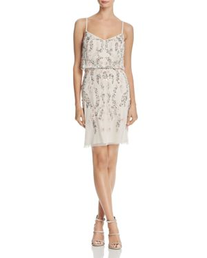 Adrianna Papell Embellished Blouson Dress 2743072
