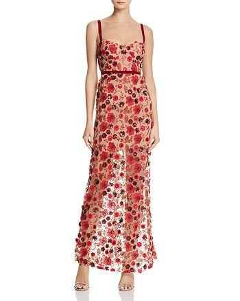 d2f9336601f1 For Love & Lemons Beatrice Embellished Maxi Dress | Bloomingdale's