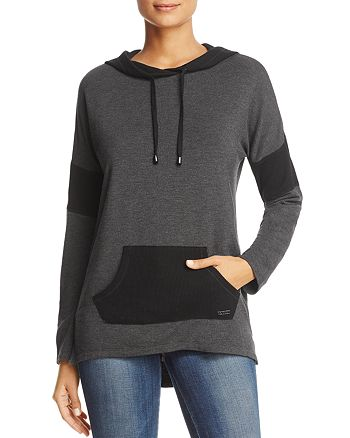 Marc New York - Thermal Inset Hooded Tunic