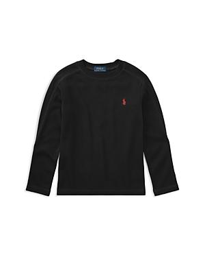 Ralph Lauren Childrenswear Boys' Waffle-Knit Long-Sleeve Tee - Little Kid