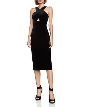Bcbgmaxazria Maren Velvet Dress