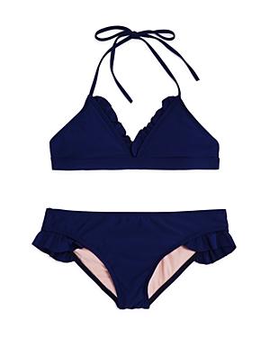 Splendid Girls' Ruffled 2-Piece Swimsuit - Big Kid