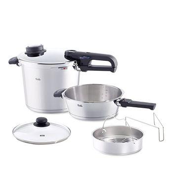 Fissler - 6-Piece Medium Vitavit Premium Pressure Cooker Set