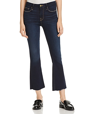 Frame Le Crop Mini Boot Cut Jeans in Cabana