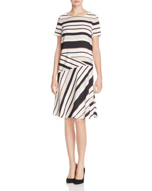 Lafayette 148 New York Greta Stripe Dress