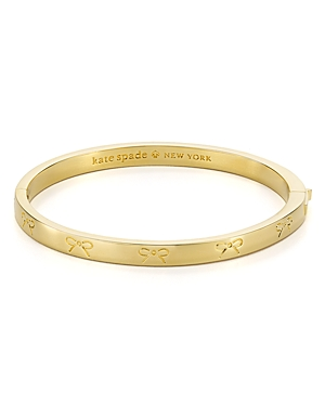 kate spade new york Engraved Bow Bangle