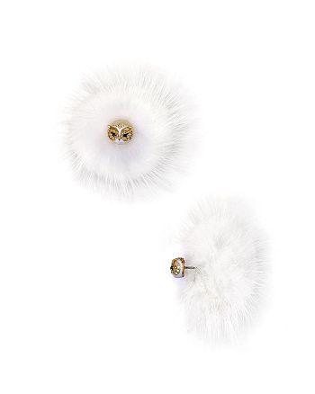 kate spade new york - Owl Reversible Earrings