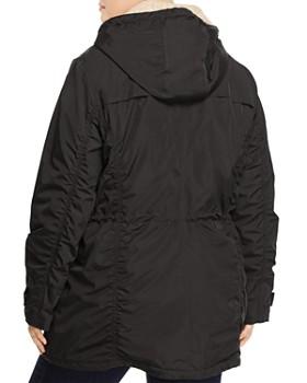 Marc New York Plus - Nandie Sherpa Collar Parka