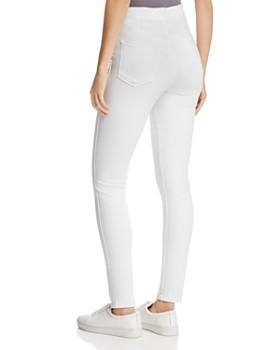 b2239cd4909 ... J Brand - Natasha Sky-High Skinny Jeans in Blanc