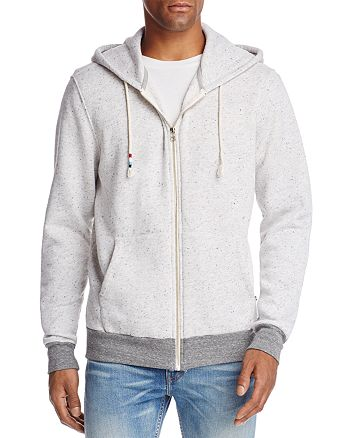 SOL ANGELES - Peppered Zip Hooded Sweatshirt