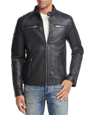 SUPERDRY CLASSIC REAL HERO LEATHER JACKET
