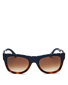 Valentino - Women's Square Embellished Sunglasses, 51mm