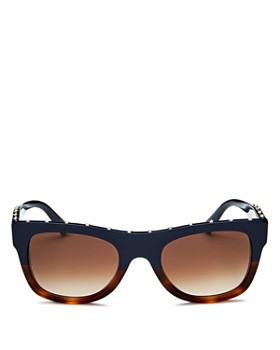 Valentino - Women's Square Embellished Sunglasses, 51mm