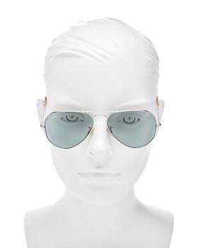 Ray-Ban - Unisex Polarized Evolve Aviator Sunglasses, 58mm
