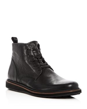 John Varvatos Star Usa Men's Brooklyn Lug Leather Lace Up Boots thumbnail