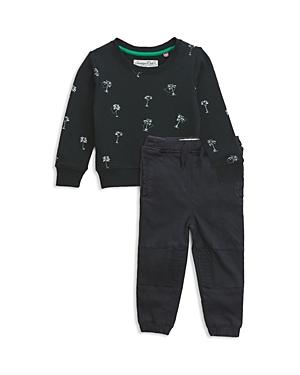 Sovereign Code Boys Palm Tree Sweatshirt  Joggers Set  Baby