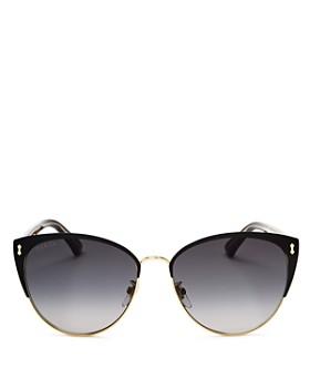 Gucci - Women's Cat Eye Sunglasses, 58mm