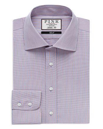 Thomas Pink - Chet Check Athletic Fit Dress Shirt - Bloomingdale's Slim Fit