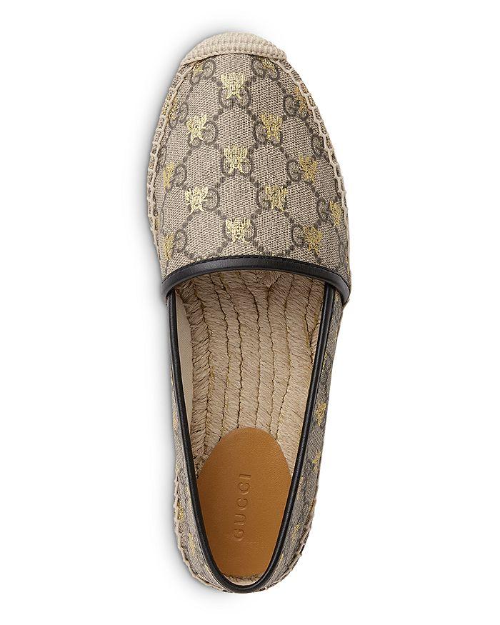 3479051433e Gucci - Women s Pilar GG Supreme Canvas Espadrille Flats