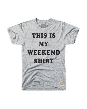 Retro Brand Boys' Weekend Shirt Graphic Tee - Big Kid