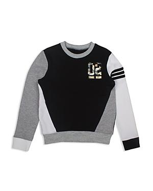 True Religion Boys' Color-Block Graphic Sweatshirt - Big Kid