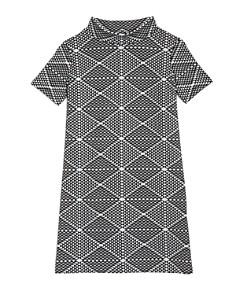 AQUA Girls' Geo Print Dress, Big Kid - 100% Exclusive - Bloomingdale's_0