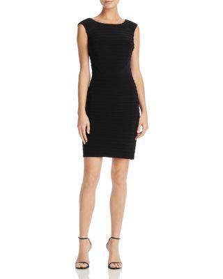 $Adrianna Papell Pintuck Matte Jersey Dress - Bloomingdale's