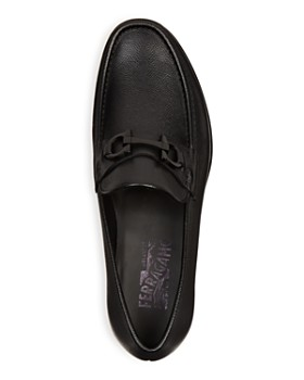 Salvatore Ferragamo - Men's Crown Gancini Bit Loafers