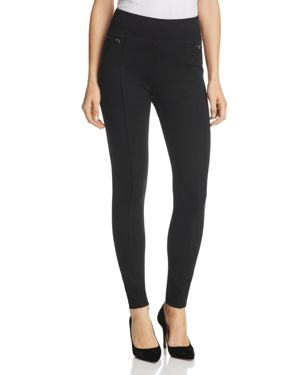 Aqua Zip-Detail Ponte Leggings - 100% Exclusive