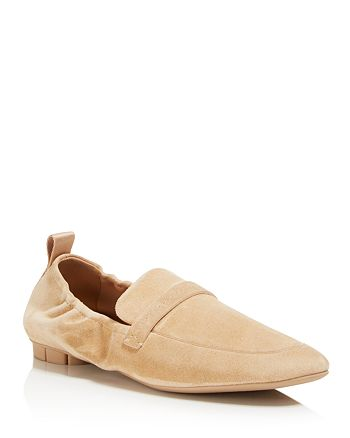 Salvatore Ferragamo - Women's Suede Loafers