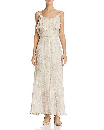 Rebecca Minkoff - Decklan Ruffled Floral-Print Maxi Dress