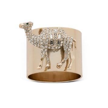 $Joanna Buchanan Camel Napkin Rings, Set of 2 - Bloomingdale's