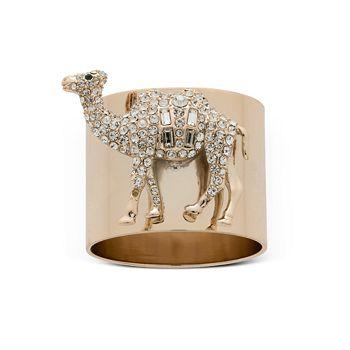 Joanna Buchanan - Camel Napkin Rings, Set of 2