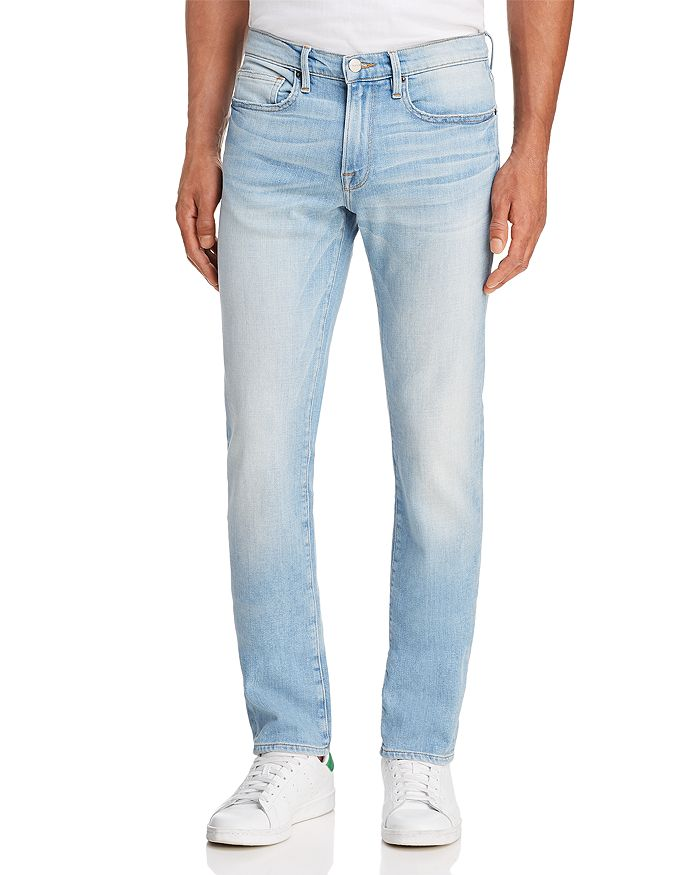 FRAME - L'Homme Slim Fit Jeans in Finn