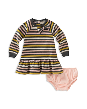 kate spade new york Girls' Stripe Dress & Bloomers Set - Baby