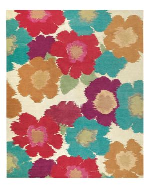 Tufenkian Artisan Carpets Posies Floral Collection Area Rug, 8' x 10'