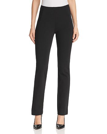 Donna Karan - Split-Hem Jersey Pants