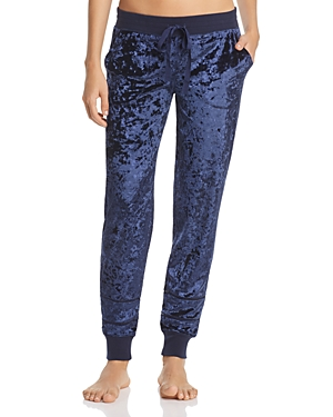 Pj Salvage Crushed Velvet Jogger Pants