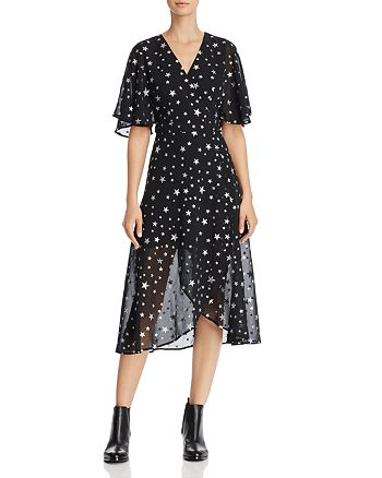Re:Named - Starry Night Wrap Dress