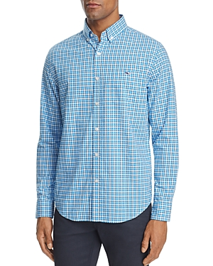 Vineyard Vines Birch Island Check Slim Fit Button-Down Shirt