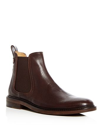 George Brown - Men's Fulton Pebbled Leather Chelsea Boots