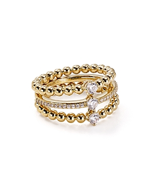 Nadri Eclat Linked Ring