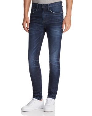 Prps Goods & Co. Demon Slim Fit Jeans in Dark Blue