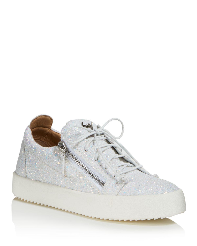 Giuseppe ZanottiMay London Glitter Low Top Sneaker